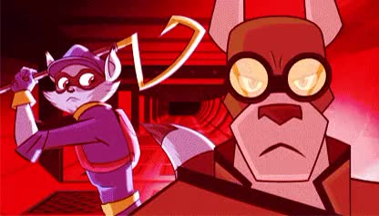 Watch and share Sly And Carmelita GIFs and Sly Cooper Edit GIFs on Gfycat
