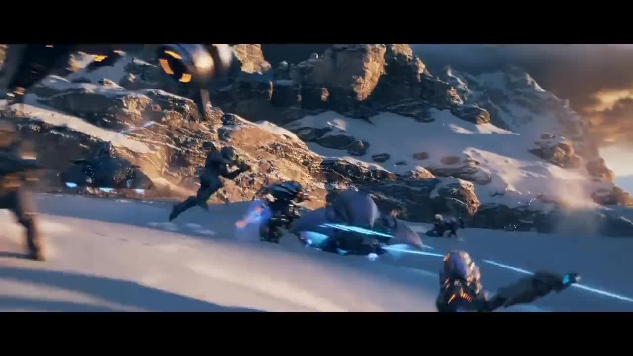 Halo 5: Guardians Opening Cinematic GIFs