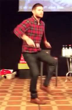 Watch and share Jensen Ackles GIFs and Dancing GIFs on Gfycat