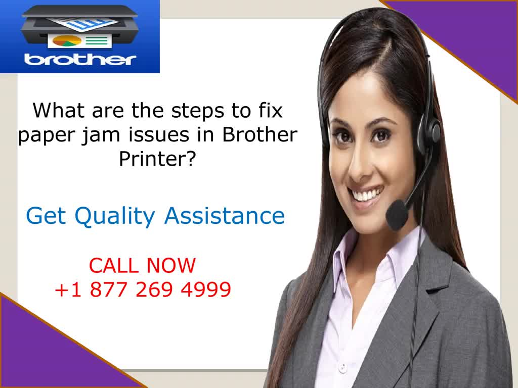Fix Paper Jam Issues In Brother Printer