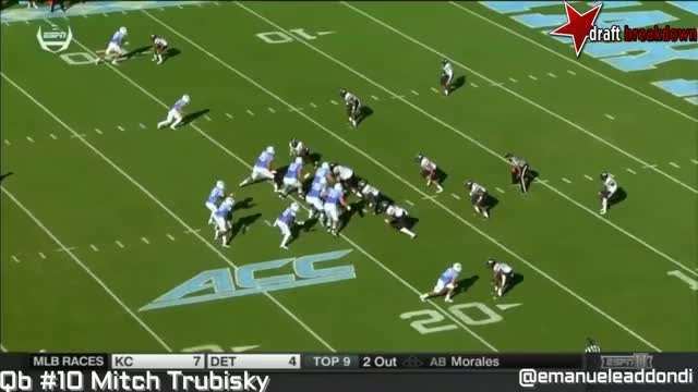 Watch and share Mitch Trubisky Vs Pitt(2016) GIFs by jonah7073 on Gfycat