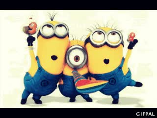 Watch Minions party GIF on Gfycat. Discover more related GIFs on Gfycat