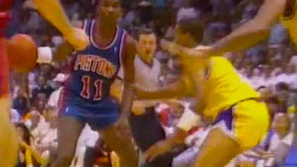Watch and share Isiah Thomas — Detroit Pistons GIFs by Off-Hand on Gfycat
