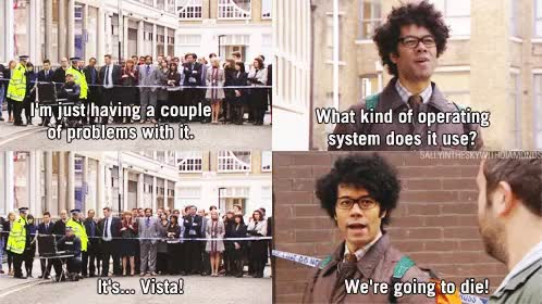 Watch have-you-tried-turning-it-off-and-on-again gif GIF on Gfycat. Discover more richard ayoade GIFs on Gfycat