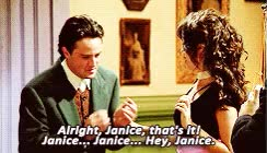 Watch and share Chandler And Janice GIFs on Gfycat