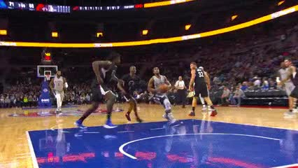 Watch and share DeAndre Jordan — Los Angeles Clippers GIFs by Off-Hand on Gfycat