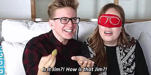 Watch and share Tyler Oakley GIFs and Jim Chapman GIFs on Gfycat