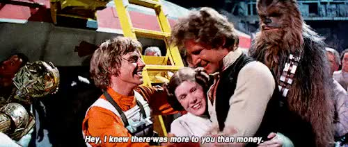 Watch and share Luke Skywalker GIFs and Princess Leia GIFs on Gfycat
