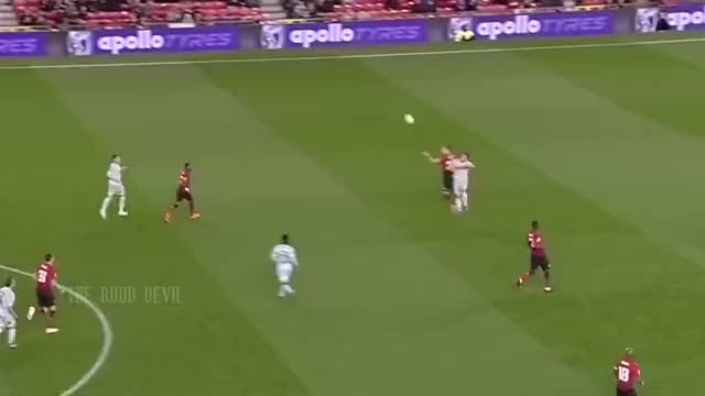 Watch and share Dalot Assist Fellaini GIFs on Gfycat