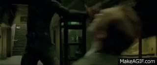 Watch matrix neo throat punch gif GIF on Gfycat. Discover more related GIFs on Gfycat