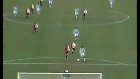 Watch and share Hernan Crespo. Lazio - Fiorentina. 09.12.2001 - OS GIFs by fatalali on Gfycat
