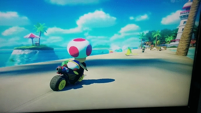 mariokart, Toad is heartless. GIFs