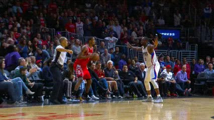 Watch and share Marcus Thornton, Houston Rockets GIFs by Off-Hand on Gfycat