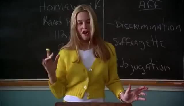 Watch and share Clueless GIFs on Gfycat