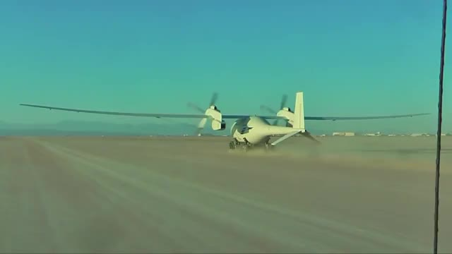 Watch and share Hydrogen Powered Flight - Boeing Phantom Eye Takes Off From A Dolly On Its First Flight (reddit) GIFs on Gfycat