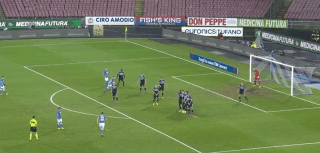 Watch and share Milik Freekick Goal Vs Lazio 18-19 GIFs by FIFPRO Stats on Gfycat