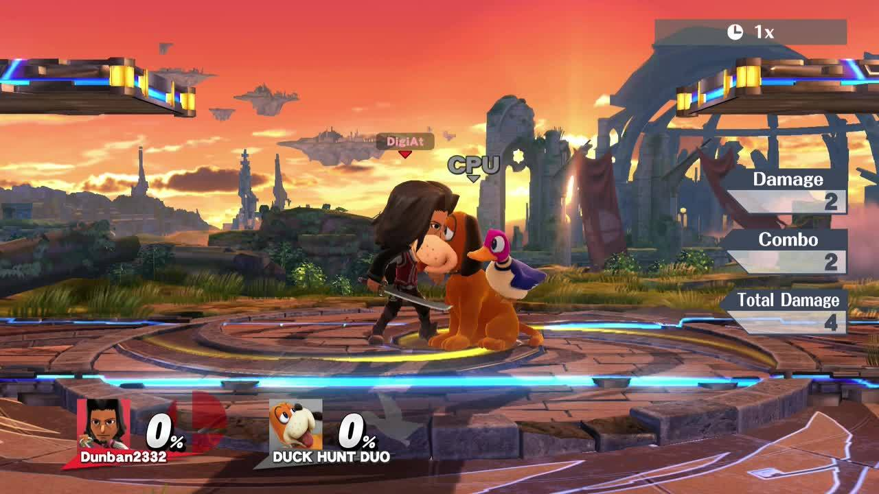 smashgifs, Mii Swordfighter Up Throw GIFs