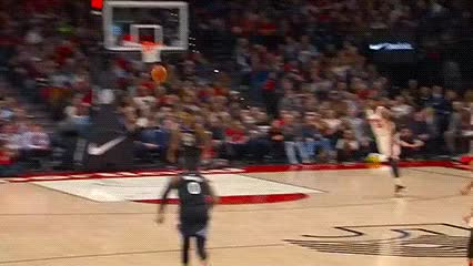 Watch and share Portland Trail Blazers GIFs by Off-Hand on Gfycat