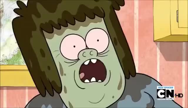 Watch Muscle MAn's Freakout GIF on Gfycat. Discover more regularshow GIFs on Gfycat