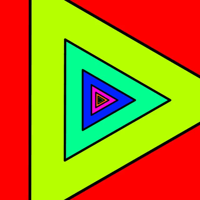 Watch and share Triangles GIFs by minipif on Gfycat