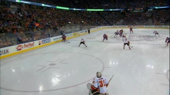 edmontonoilers, hockey, Leon Draisaitl (3) Wrist shot - ASST: Taylor Hall (8) GIFs