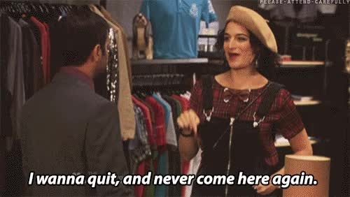 Watch and share Parks And Rec GIFs and Jenny Slate GIFs on Gfycat