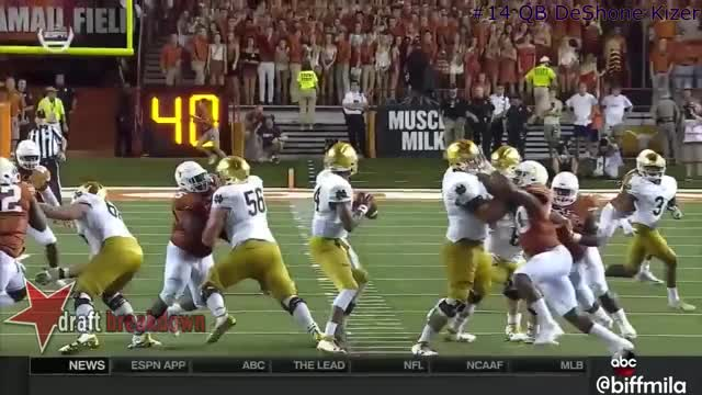 Watch and share Deshone Kizer GIFs and Draft Sharks GIFs on Gfycat