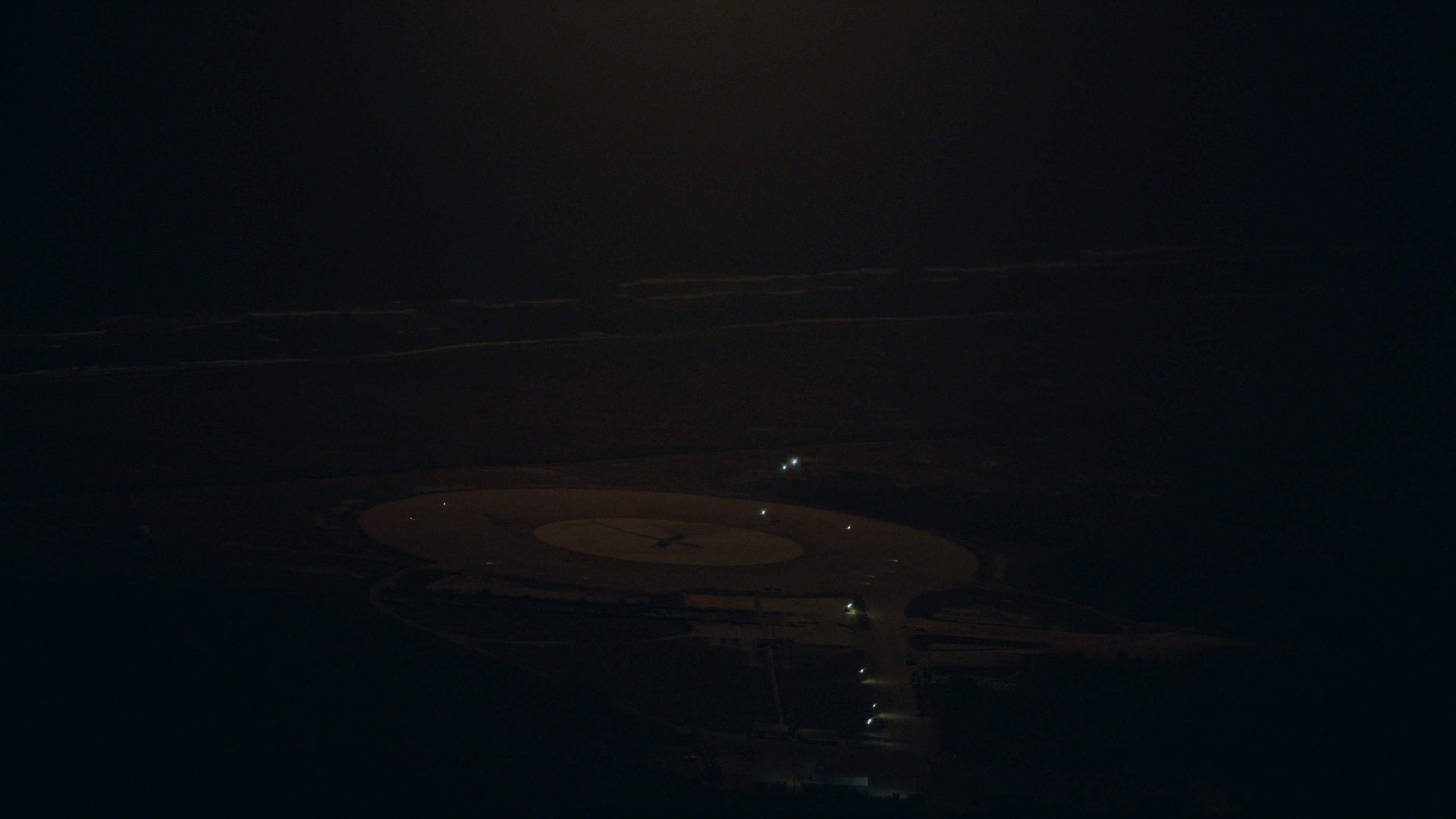 SpaceGifs, spacegifs, Falcon 9 First Stage Landing   From Helicopter GIFs