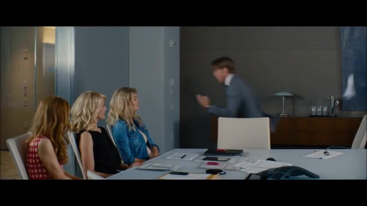 leslie mann, The Other Woman - ''Glass'' scene HD 2014 GIFs