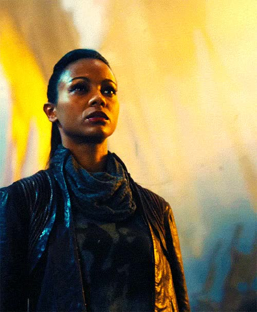 Watch and share Zoe Saldana GIFs and Star Trek GIFs on Gfycat