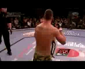 HighlightGIFS, highlightgifs, Scott Smith vs. Pete Sell - Smith gets a broken rib but knocks out Sell GIFs