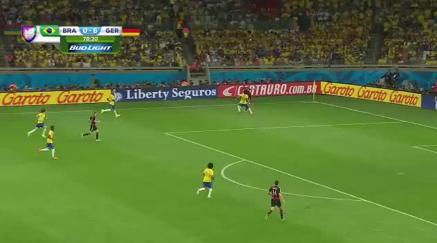 Watch Match Thread: Brazil vs Germany, World Cup Semi-Final (reddit) GIF by @badgersgopoo on Gfycat. Discover more soccer GIFs on Gfycat