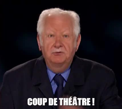 Watch and share Pierre Bellemare GIFs and Coup De Théâtre GIFs on Gfycat