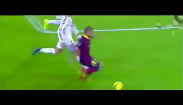 Watch and share Dani Alves Vs Cristiano Ronaldo Skill Nutmeg GIFs on Gfycat