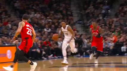 Watch and share DeMar DeRozan — San Antonio Spurs GIFs by Off-Hand on Gfycat