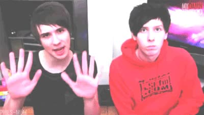 Watch danisnotonfire dan and phil gif GIF on Gfycat. Discover more amazingphil, daniel howell GIFs on Gfycat