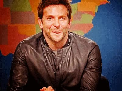 Watch and share Bradleycooper, Bradley Cooper, Smiling, Happy, Cute GIFs on Gfycat