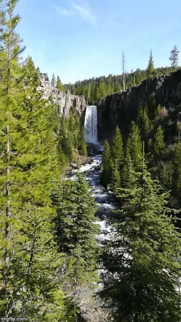 Watch and share Tumalo Falls GIFs on Gfycat