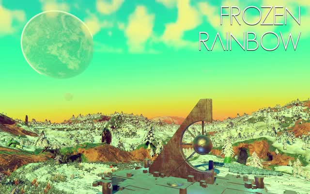 Watch Frozen Rainbow GIF by @ianm32 on Gfycat. Discover more nomansfans, nomanssky, timelapse GIFs on Gfycat