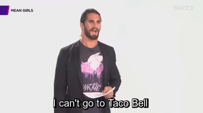 Watch and share Seth Rollins GIFs and Mean Girls GIFs on Gfycat