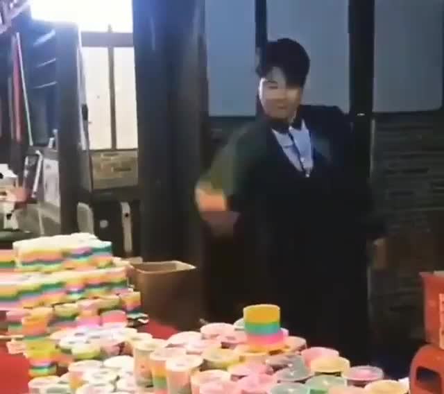 Watch and share Slinky Salesman Pulling Off Some Slinky Magic GIFs on Gfycat