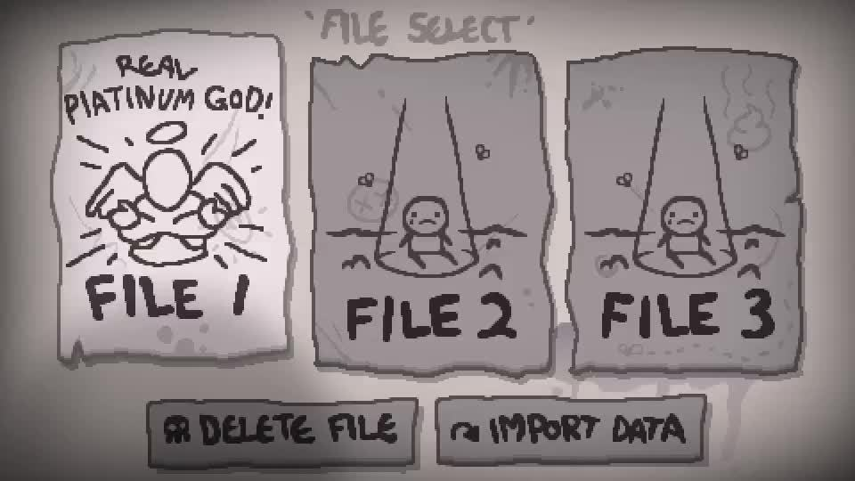 bindingofisaac, [BUG] Save import problems - completion marks are wrong (reddit) GIFs