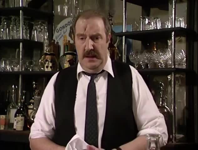 Watch and share Allo Allo - Worried Dunnow Look GIFs by MikeyMo on Gfycat