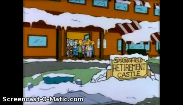 Watch and share Los Simpsons - Tengo Frio Y Miedo GIFs on Gfycat