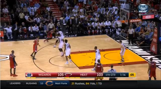 Watch and share Heat GIFs and Nba GIFs by treasy on Gfycat