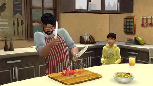 Watch and share Cool Kitchen Stuff GIFs and The Sims 4 GIFs on Gfycat
