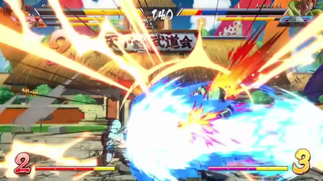 DBFZ Closed Beta High level Replays 3x