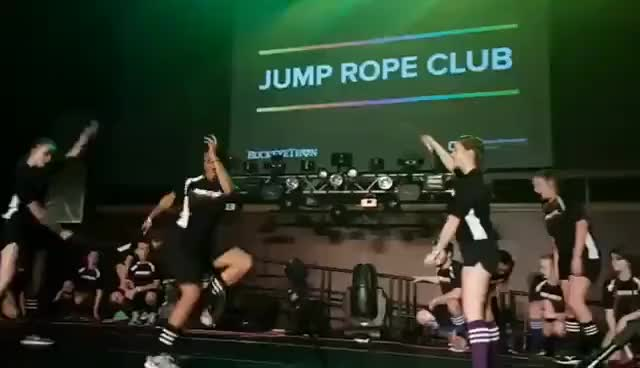 Watch and share Jump+rope+club GIFs on Gfycat