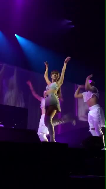 ArianaGrande, Ariana Grande Update - Ariana performing 'Side To Side' in Tulsa, OK - February 9th. #DangerousWomanTour (7) GIFs