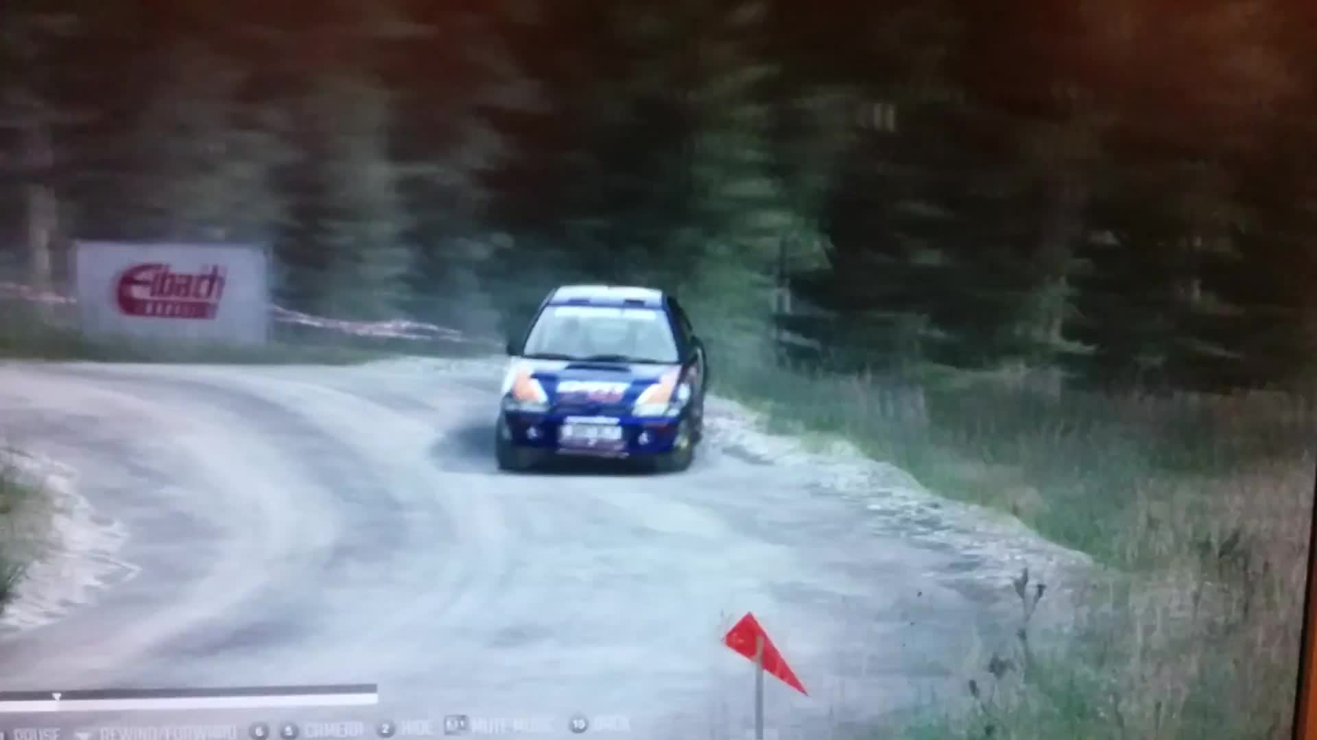 dirtgame, Dirt rally Wales over the top Scandinavian flick GIFs